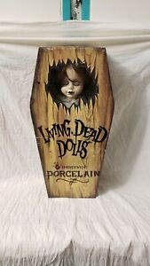 "Living Dead Dolls Posey 18"" Porcelain Doll Unopened In Box"