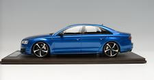1/18 MotorHelix Audi S8  in Sepang Blue