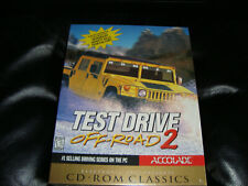 Test Drive Off-Road 2 PC Game Big Box vintage classic CD-ROM Win 95 98 NEW rare