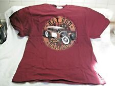 RAT ROD GARAGE Men's Large T-Shirt-New With Tags-FORD-CHEVY-V8-PONTIAC-BUICK-REO