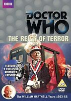 Doctor Who - The Reign Of Terror [DVD] William Hartnell Riegn Sigillato