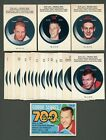 1968-69 OPC HOCKEY PUCK STICKERS COMPLETE SET (22/22) ORR, HOWE, HULL++