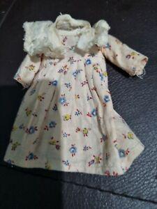 Ancienne ROBE de présentation de antique poupée Bébé JUMEAU RABERY STEINER BRU