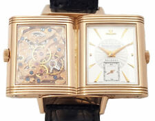 JAEGER LE COULTRE REVERSO - Skelettiert - 18ct Rotgold Grand Taille Ref.270.2.62