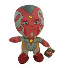 OFFICIAL MARVEL AVENGERS VISION OLD STYLE PLUSH SOFT TOY TEDDY NEW WITH TAGS