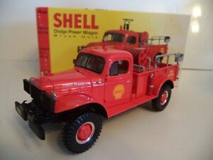 FIRST GEAR DODGE POWER WAGON SHELL BRUSH UNIT 1999  1/30TH SCALE   IN  BOX