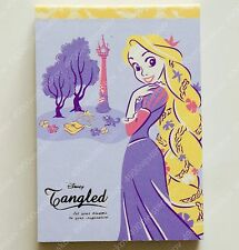 Disney Japan Princess Rapunzel Tangled Mini Memo Pad 4 paper design 100 sheets