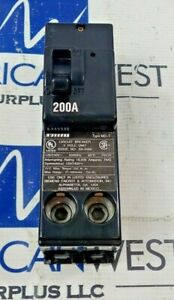 Murray MPD2200 200 Amp 2 Pole 120/240V Type MD-T Plug in Circuit Breaker