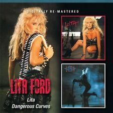 Lita Ford - Lita / Dangerous Curves [New CD] Rmst, Slipsleeve Packaging