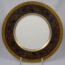 MINTON PORCELAIN BALL COBALT-Set of 8 Dinner Plates- Henry Morgan & Co Montreal