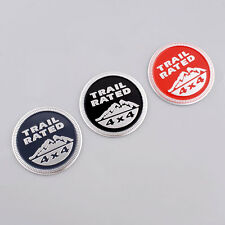 SUV Trail Rated 4x4 Emblem Decal Sticker Badge Medal Paster For Jeep Land Rover