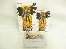 SILVA SAGA II 2 Super Famicom Nintendo Japan Game sf