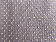 1 1/3 Yards Of Vintage Lavender & White Dotted Swiss Cotton Fabric