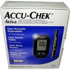 Medidor Glucometro ACCU-CHEK AVIVA +10 TIRAS + 10Lancetas + PINCHADOR accu check