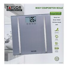 Taylor Body Composition Scale - Fat Water BMI Athlete Mode