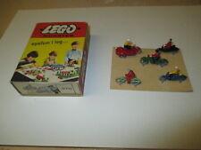 Lego® Mursten 270, OVP Schachtel Motorräder, vintage, ca. 1956, aus Sammlung