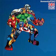 Hulk, Marvel Avengers Super Heroes Characters- Car decal/ sticker-WA-AH01