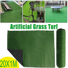 65x3ft Artificial Grass Mat Synthetic Landscape Fake Turf Lawn Home Yard Garden