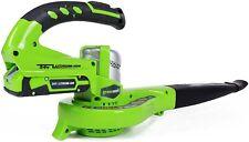 Greenworks 24V Dual Speed Cordless Leaf Blower Model #: 24352 (Tool Only)