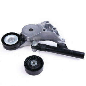 1.9TDI Drive Belt Tensioner&Idler Pulley Kit Fit For VW Jetta Golf AUDI A3