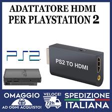 PS2 HDMI ADATTATORE VIDEO PS2 TO HDMI CONVERTITORE PS2 VIDEO AUDIO HD 1080P🇮🇹