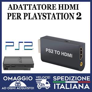 ADATTATORE VIDEO PS2 TO HDMI CONVERTITORE PS2 VIDEO AUDIO HD 1080P 🇮🇹