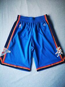Adidas NBA Oklahoma City Thunder OKC Shorts SMALL VGC