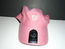 Washington Nationals '47 Brand Clean Up Pink Adjustable Size Baseball Hat NWT