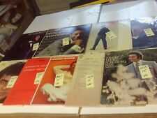 9 JOHNNY MATHIS RECORD ALBUMS #1 1957 THROUGH 1979