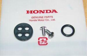 HONDA FUEL PETCOCK REBUILD GASKET KIT XR75 XR80 XL75 ATC185 ATC200 TRX200
