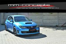 CUP Spoilerlippe für Subaru Impreza WRX STI Bj. 09-11 Frontspoiler Schwert **
