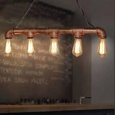 Industrial Vintage Ceiling Lights Metal Pipe Retro Loft Pendant Lamps uk