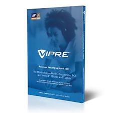 VIPRE Advanced Security 2017 (License Only) (1 PC) (1 Year)