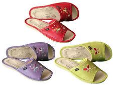 Pantofole ciabatte da donna rosso