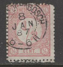 Nvph 30 II met Bossche tanding; datum 8 JAN 87