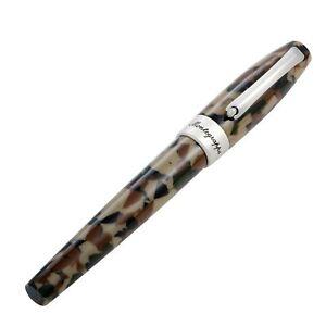 """Montegrappa """"Fortuna"""" Camouflage Fountain Pen Bold"""