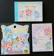 Crux Magical Story Kawaii Girls Mini Memo Pad Sticker sack flakes lot