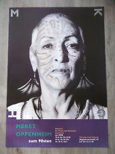 Meret OPPENHEIM Affiche originale 2003 Photo Suisse Portrait MKG Hamburg