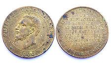 Médaille Philippe Duc d'Orléans 1900. France. Bronze