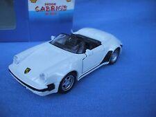 1/38 Porsche 911 Cabrio diecast car,shell  service station collection europe