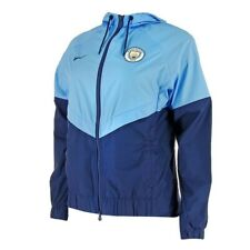 Nike Manchester City FC Women's Club Windrunner Jacket - Small - Blue - New