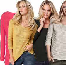 Cotton Scoop Neck Jumpers & Cardigans Plus Size for Women