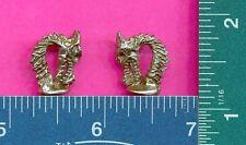 100 wholesale pewter dragon head mini figurines m11043