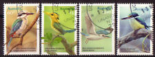 AUSTRALIA 2010 KINGFISHERS SET OF 4 FINE USED