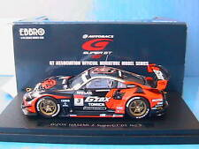 NISSAN #3 SUPER GT 2005 G'ZOX HASEMI Z EBBRO 1/43 RED B