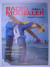 Radio Modeller - November 1978 - Radio Control Magazine For Everyday Enthusiasts