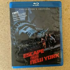Escape From New York 1981 Shout Factory Collector's Edition Bluray FREE SHIPPING