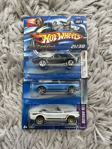 Hot Wheels - Ford Mustang And Chevrolet Camaro Bundle