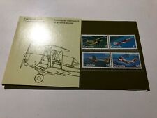 1981 Canada Canadian Transport and Training Aircraft in Folder Booklet Libretto