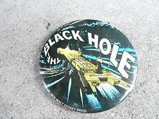 "Vintage 3 1/2"" Promo Pinback Button #114-049 Black Hole disney movie"